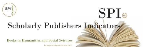 Scholarly Publishers Indicators - SPI